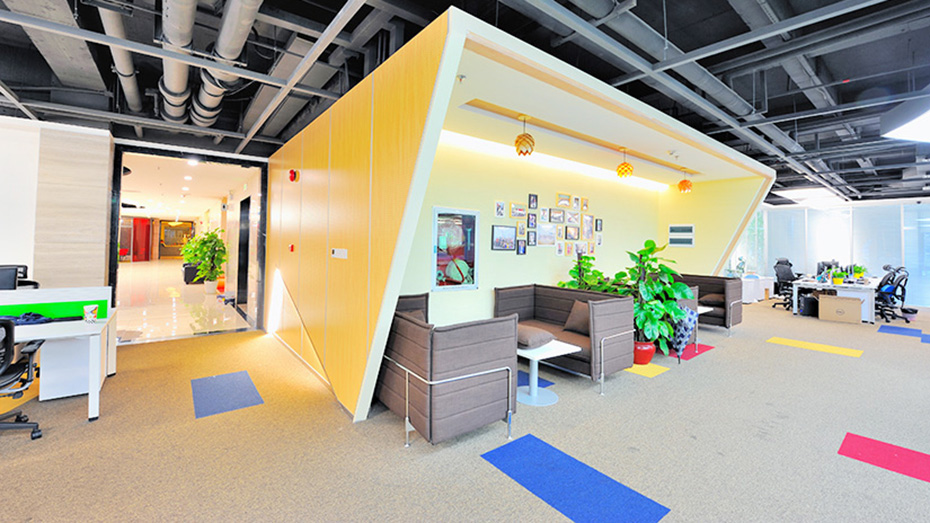 深圳办公室装修实景图