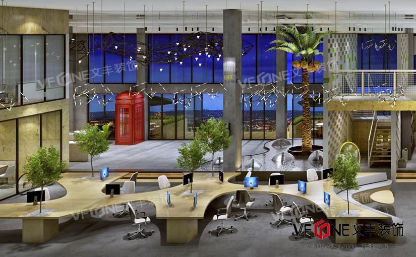 深圳产业园办公室装修设计