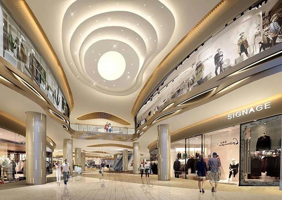 深圳商场装修设计