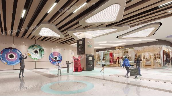 深圳商场装饰公司不告诉他人的大型商场装修需要考虑的4个方面!
