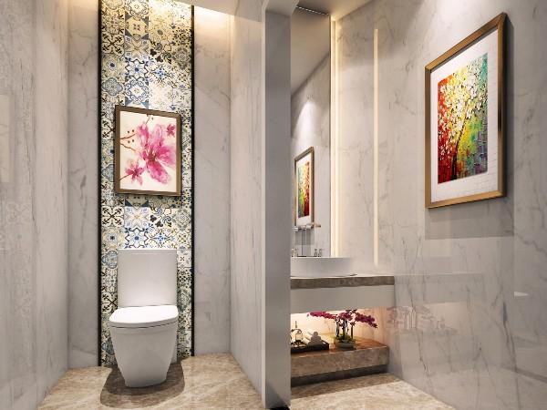 洗手间现代风格效果图