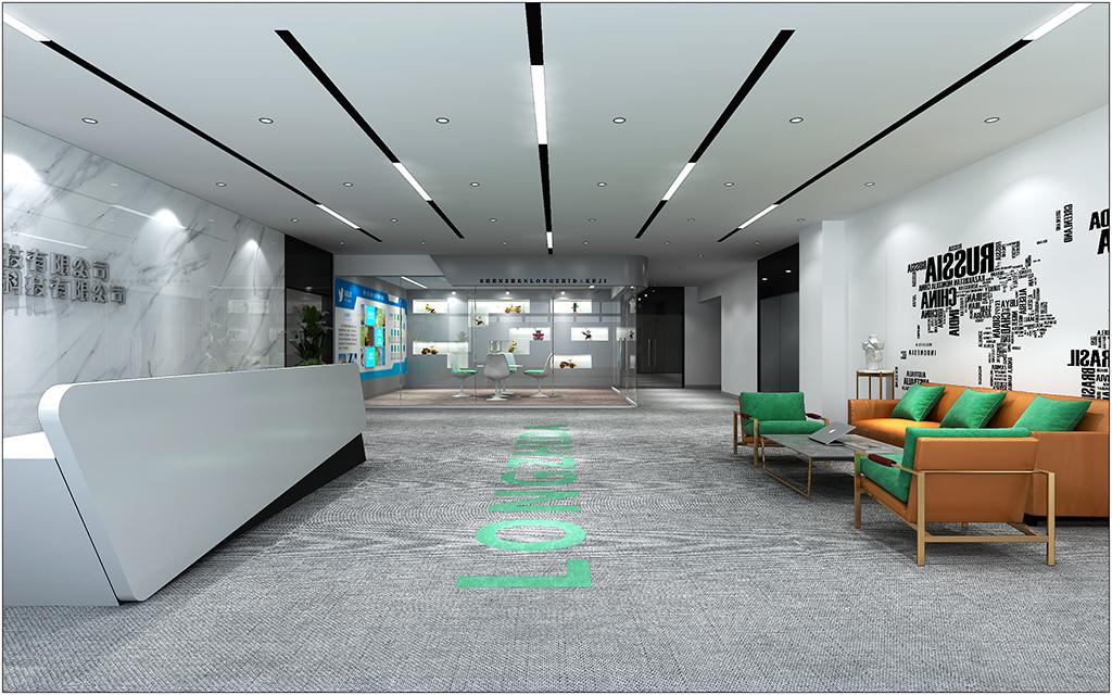 深圳办公室设计效果图
